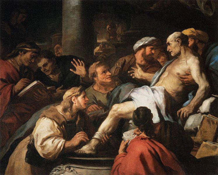 The Death of Seneca   Photo credit: Luca Giordano,  Luca Giordano - The Death of Seneca , 1684-1685, Public Domain