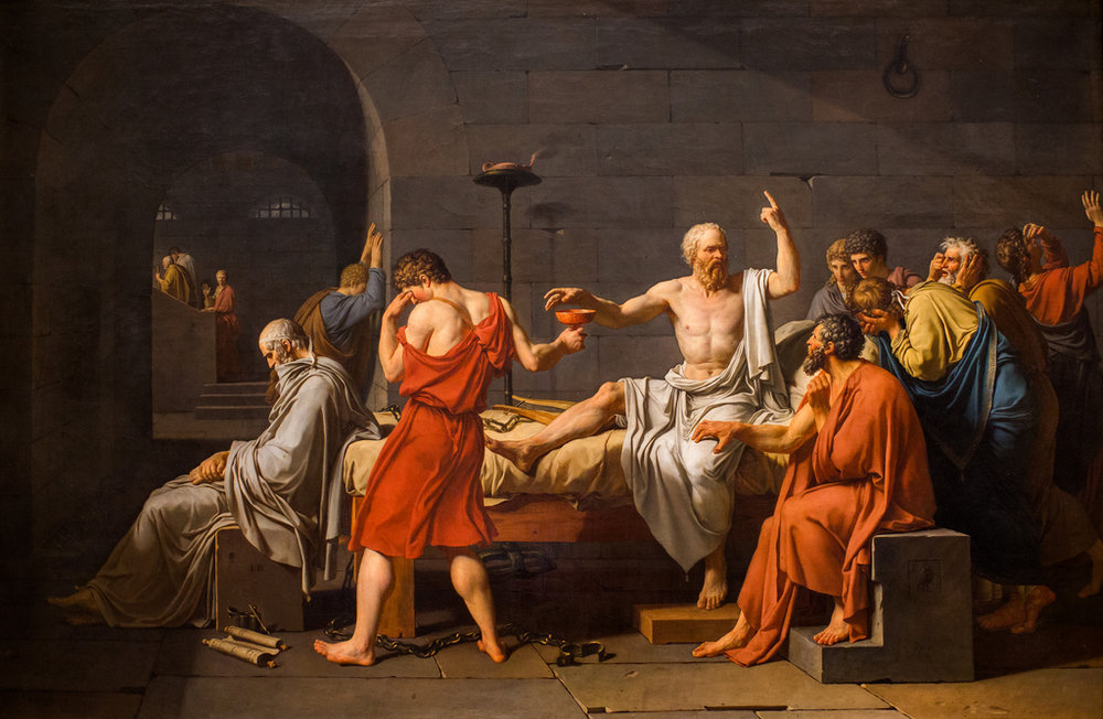 Thomas Hawk ,  The Death of Socrates  (18 Sept 2013). CC BY-NC 2.0.