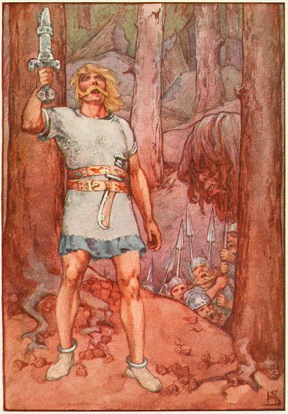 Stratton, Helen. Beowulf (1915)PD-US