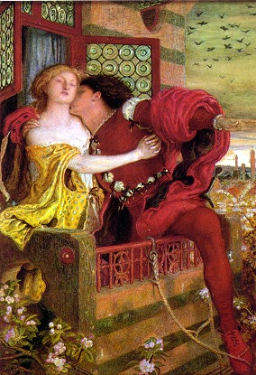 Romeo and Juliet .  Ford Madox Brown [Public domain], via Wikimedia Commons