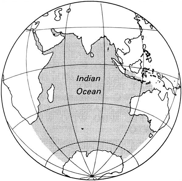 Library guy,  Map of the Indian Ocean , 26 September 2016, Public Domain