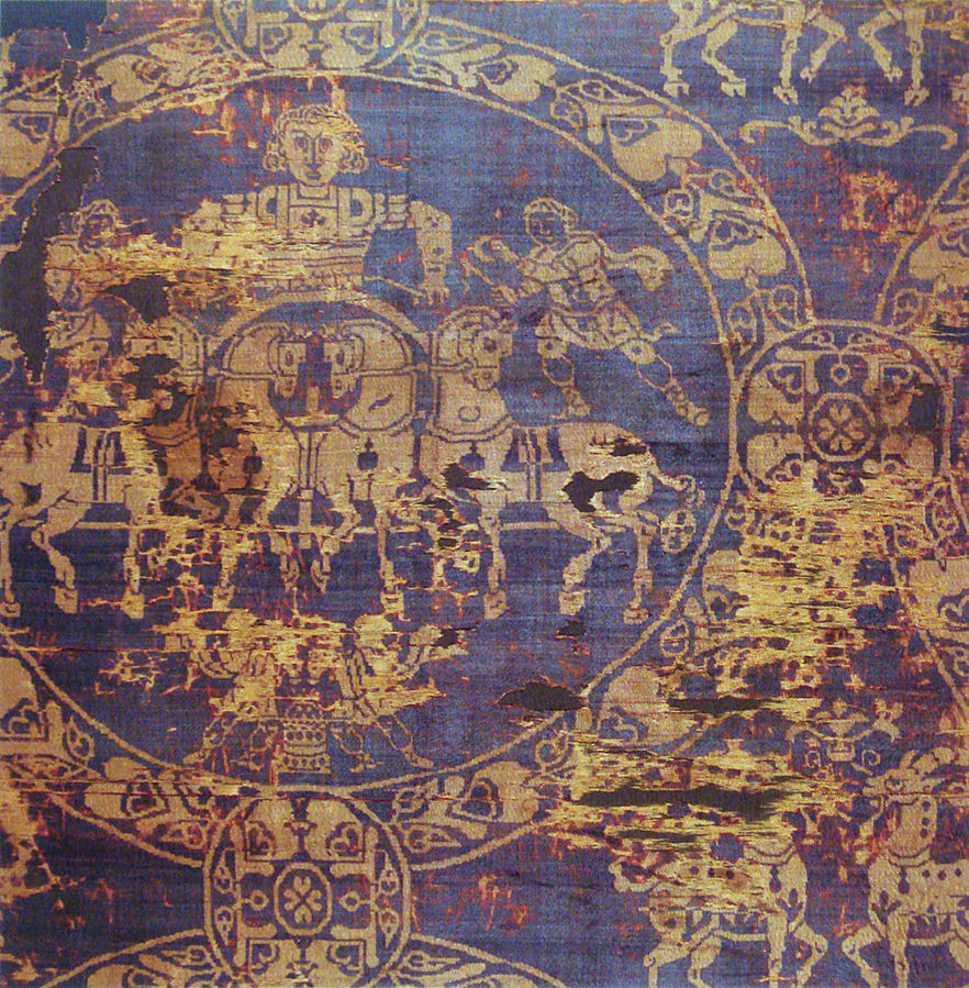 Anonymous Byzantine artist 9th century, The Shroud of Charlemagne  (14 Nov 2009). Public Domain.