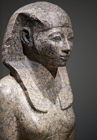 A stone statue of Hatshepsut , 16 June 2009,  CC BY-SA 2.0
