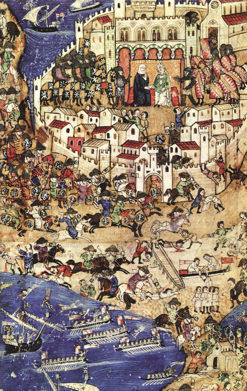 Fall of Tripoli [The fall of Tripoli to the Mamluks, April 1289.]. (2007, December 15). Retrieved from https://en.wikipedia.org/wiki/Mamluk. Public Domain License.