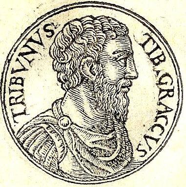 Guillaume Rouille.  Tiberius Gracchus . 18 December 2009. Public domain.