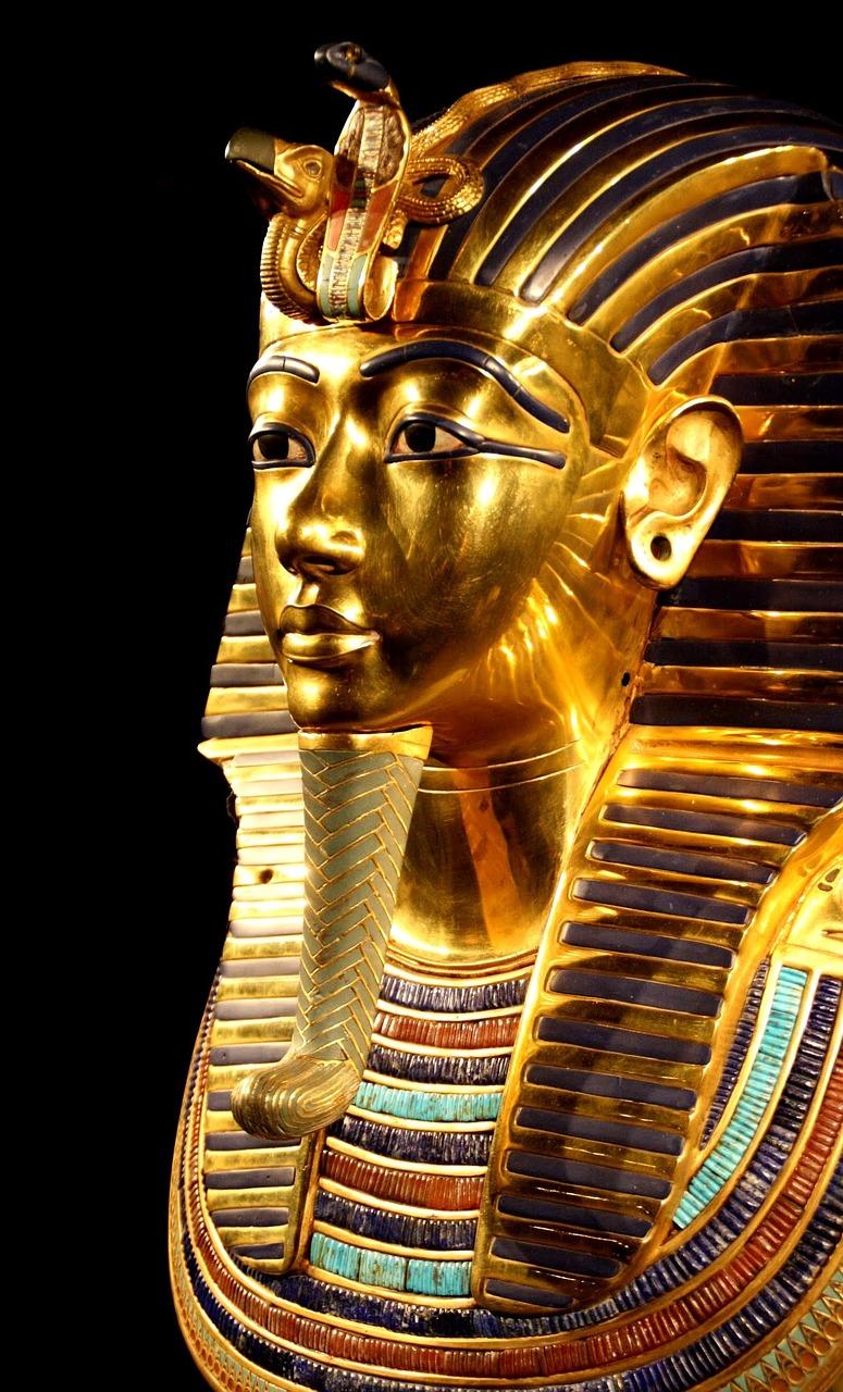 Tutankhamun,  Death Mask , Pharaonic, Egypt. CC0 1.0