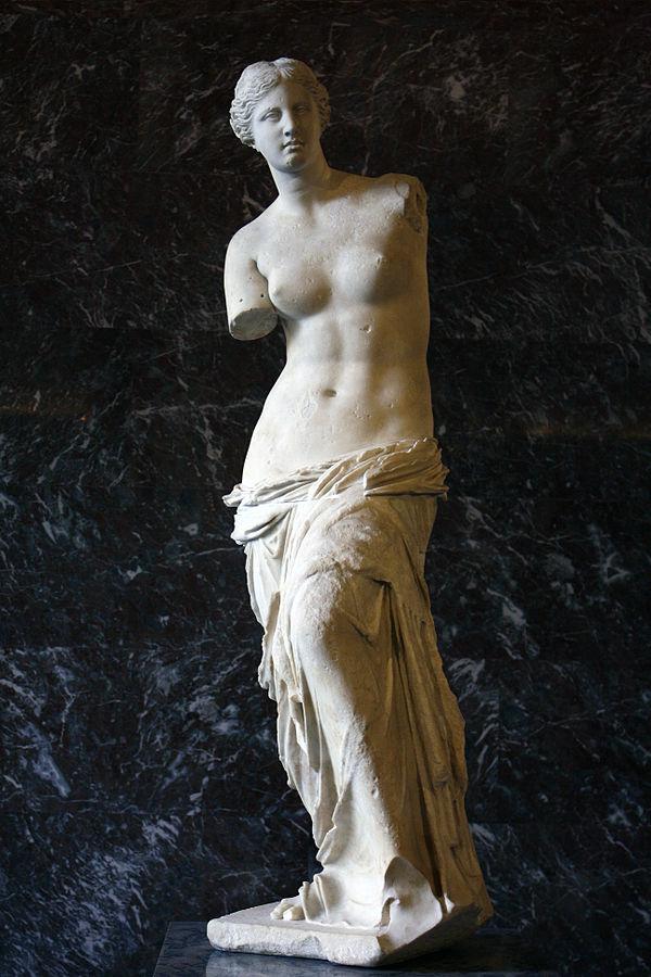 Mattgirling. August 2011. Venus de Milo (Aphrodite).Wikicommons Media.