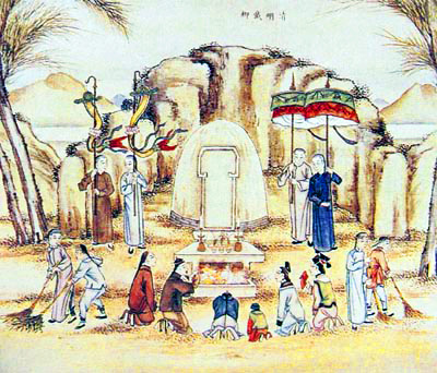 """Haphine (VisitOurChina),  Tomb Sweeping Day """"Qingming"""" Festival of China."""