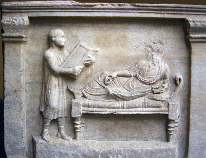 Giovanni Dall'Orto,  A slave giving education to his master , (March 21, 2005).
