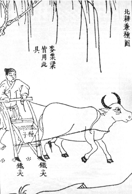 Sung Ying Hsing, Chinese Seed Drill, Public Domain, 7 August 2007
