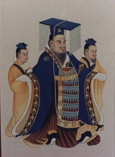 Artist Unknown,  Emperor Wu, responsible for using Juedixi as a military strategem ., Date of access: April 2018