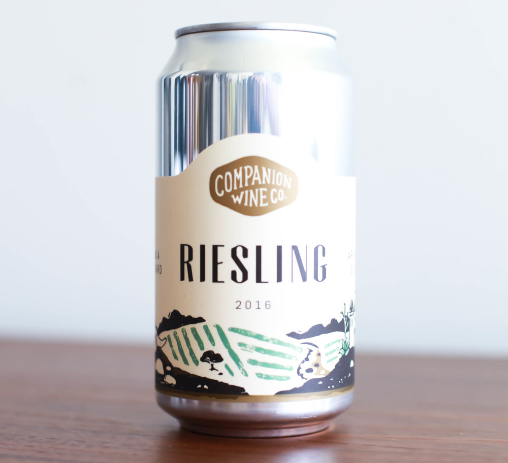 STIRM WINE CO COMPANION WINE CO RIESLING CAN