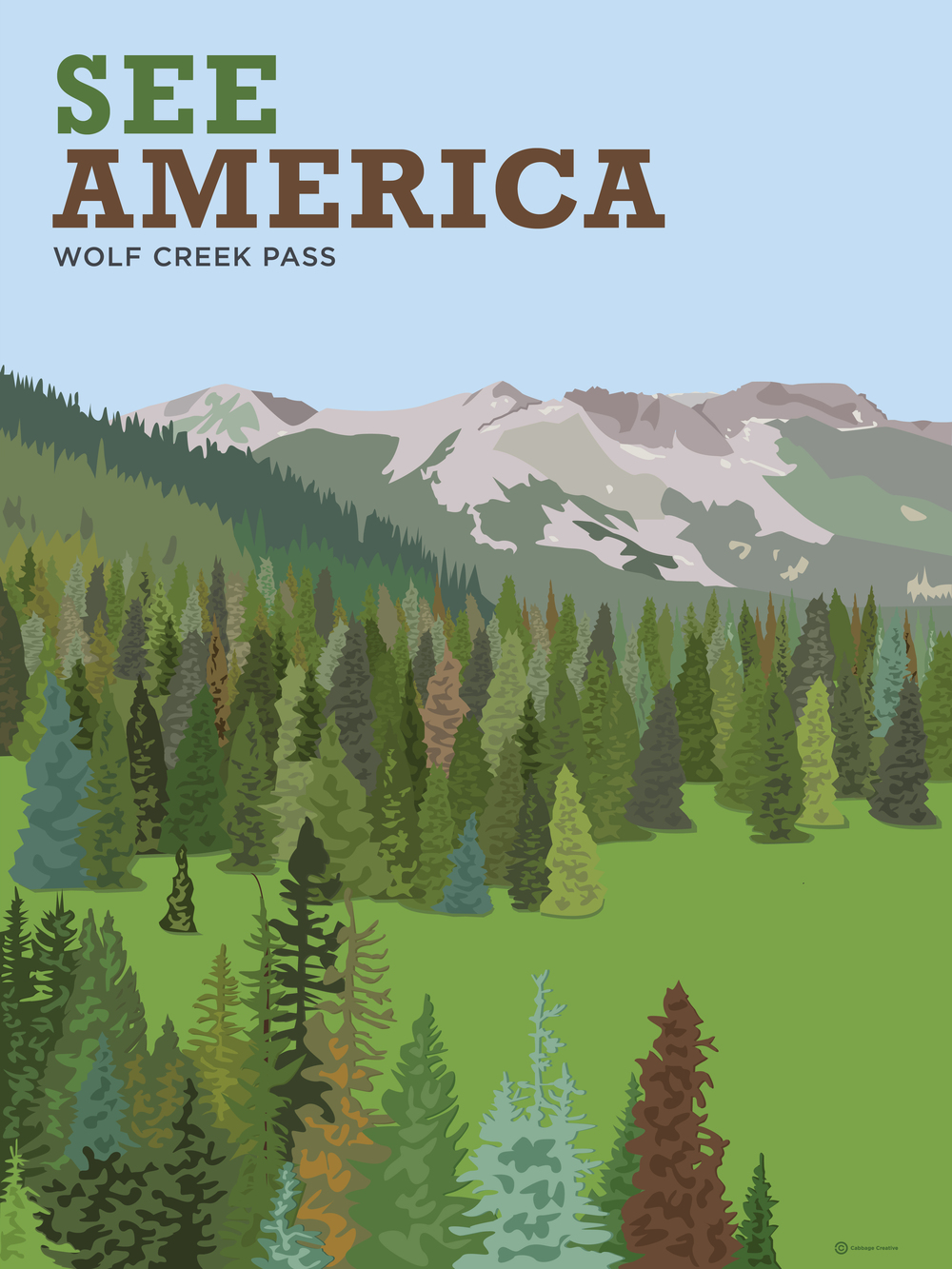 See America: Wolf Creek Pass