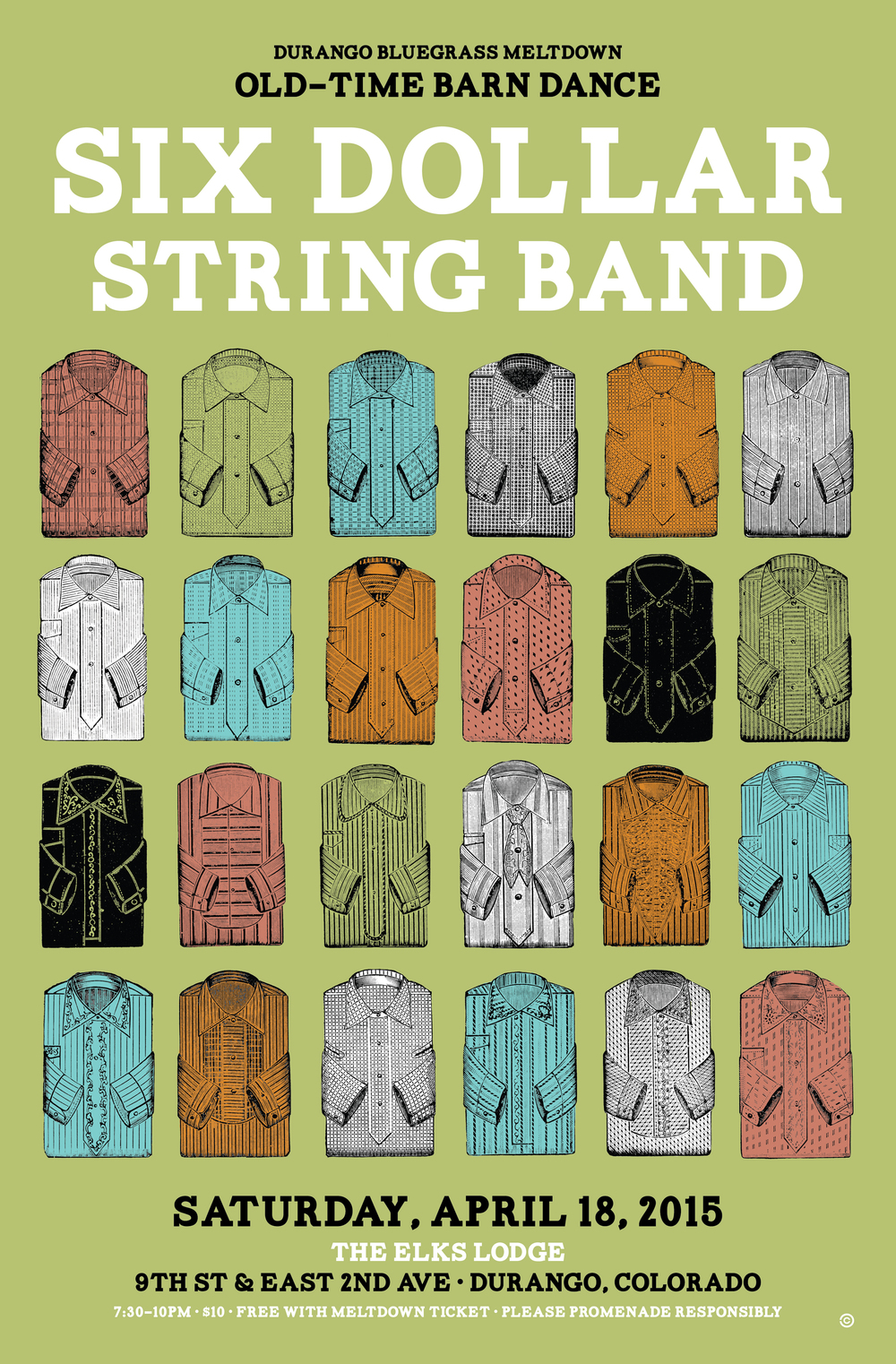 Shirts - Six Dollar String band
