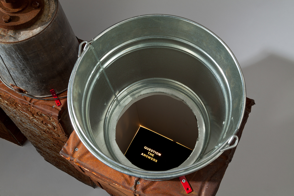 Buckets of Truth (detail)