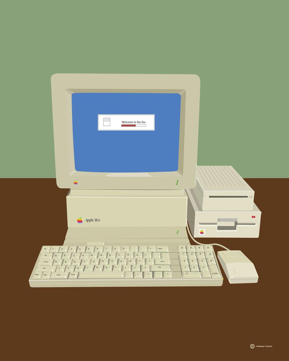 1989:  Apple IIgs