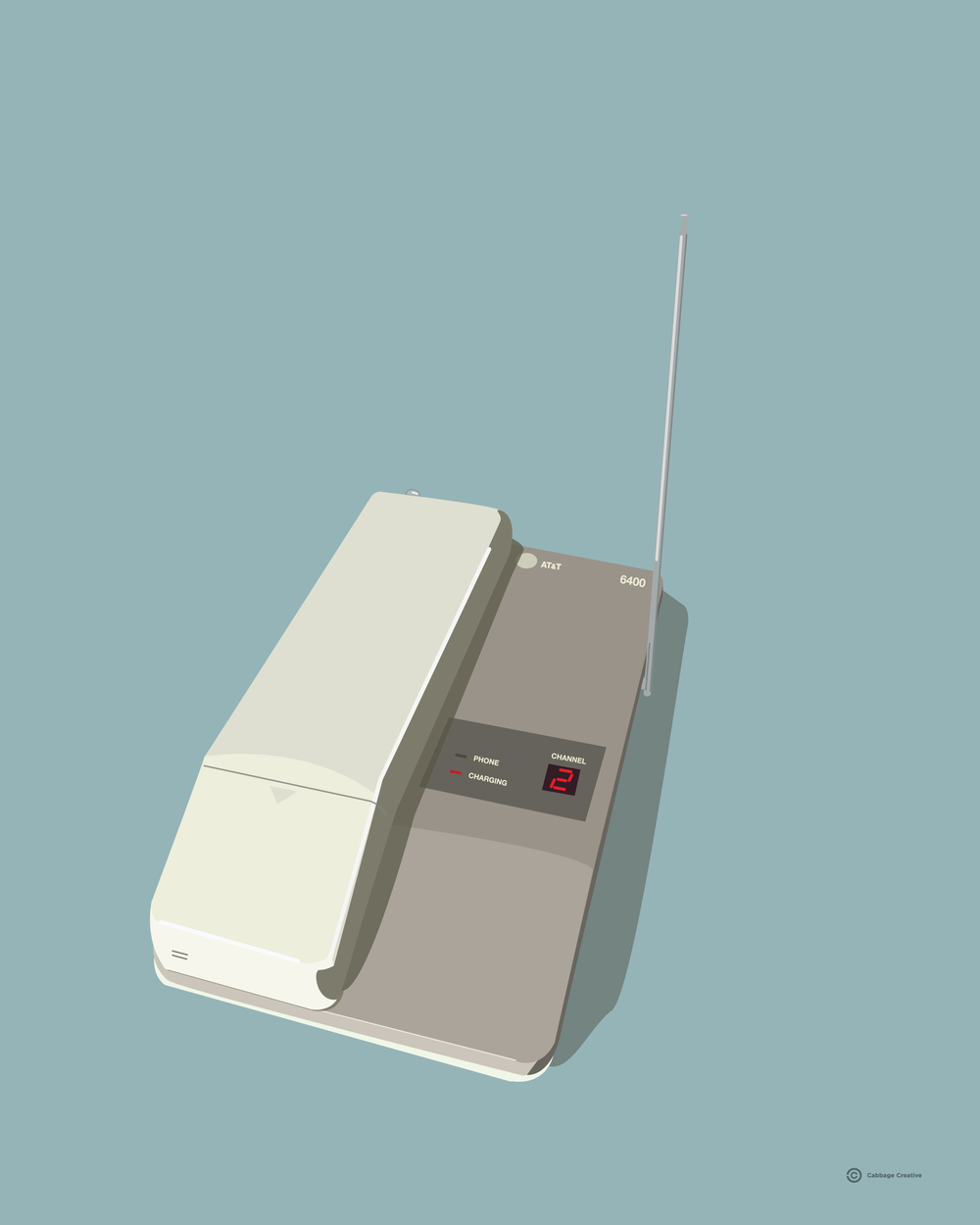1993:  Cordless Phone
