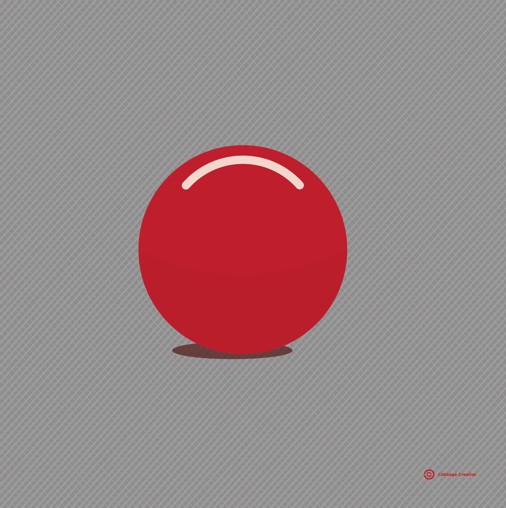 2008:  The Red Bowling Ball with no holes (That's all I need) or, it's funny what'll start you on a new path