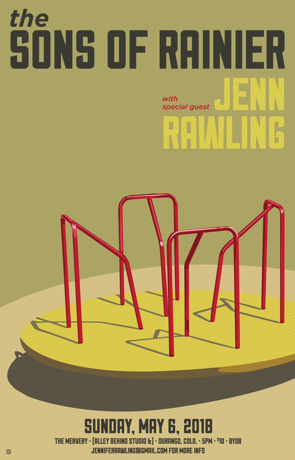 Merry Go Round - The Sons of Rainer // Jenn Rawling