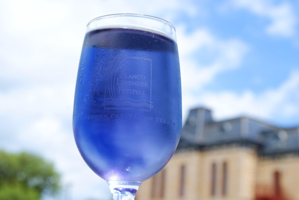 Lavender Lizzie, Blanco Lavender Festival's Signature Drink