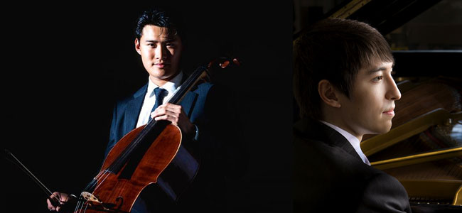 Cellist Jonah Kim wowed our audience with his performance with the Argenta Trio in 2016. He returns with prize winning pianist Sean Kennard for a recital including music of Grieg and Franck. Expect to fasten your seat belts for this concert! www.blancoperformingarts.com