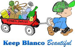 Keep Blanco Beautiful's 19th Annual Don't Mess with Texas Trash Off and 12th Annual Blanco River Clean-Up