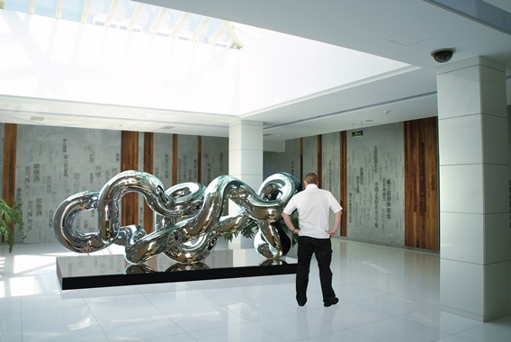 Infinity 6.32, Conceptual Environment, Interior, 10'Hx6'W - Stainless Steel