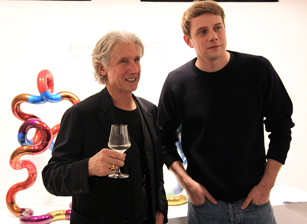 Jonathan Anderson and Richard X Zawitz at Opening Night Infinity and Fashion Colette Paris 29th Feb - 2nd April 2016