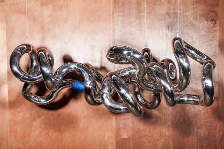 Infinite Cloud X2288    Stainless Steel , Swarovski Elements    2m (W) X 0.5m (D) X 1m (H)   Richard X Zawitz © 2014