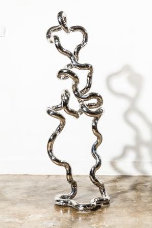 Infinite Man X234 Stainless Steel 40cm (W) X 30cm (D) X 180cm (H) Richard X Zawitz © 2015