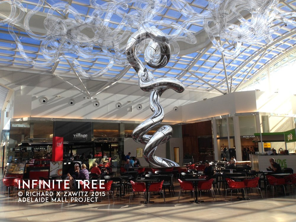 Infinite Tree  Adelaid Mall Project