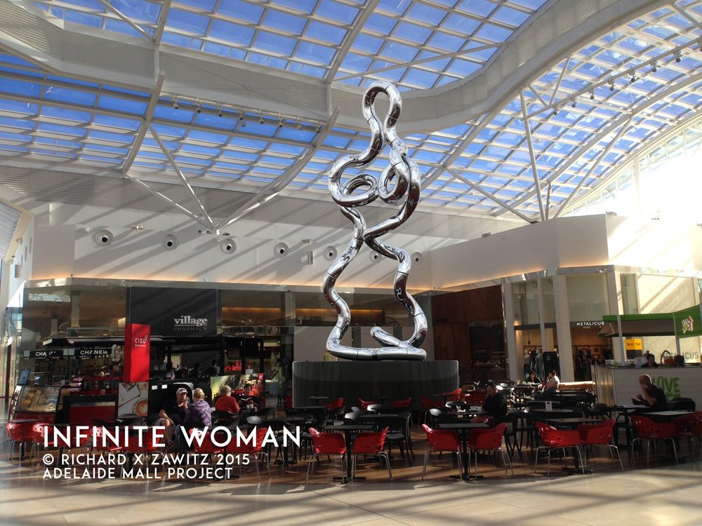 Infinite Woman  Adelaide Mall Project