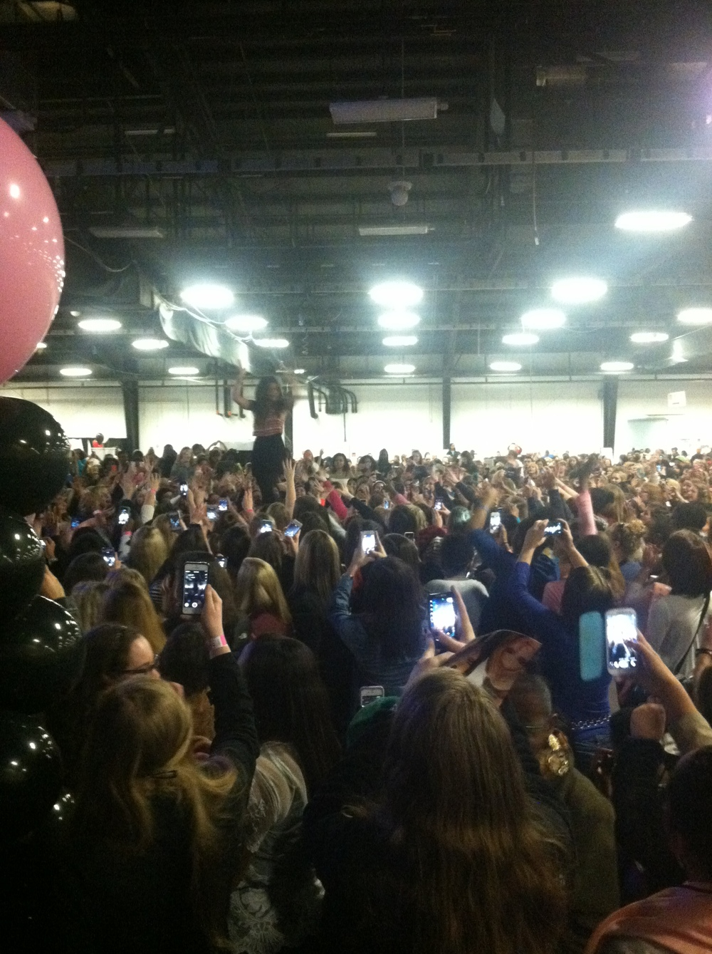 Lucy Hale at Girls World Expo - NC State Fairgrounds
