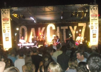 Oak City 7 is a free summer concert series that takes place in Raleigh's City Plaza!