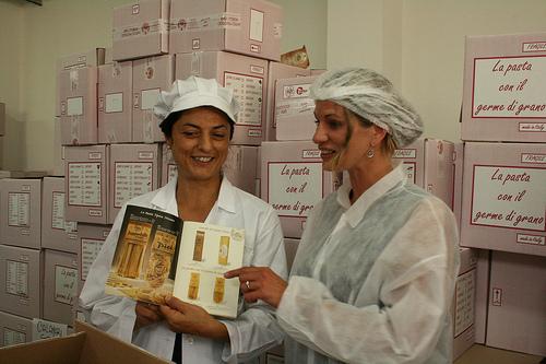 morelli pasta factory www.talkoftomatoes.com