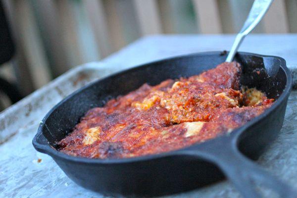 Italian polenta dish @talkoftomatoes