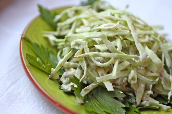 blue cheese coleslaw @talkoftomatoes