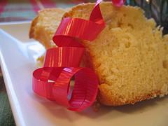 eggnog poundcake