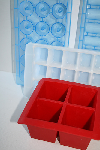ice cube trays www.talkoftomatoes.com