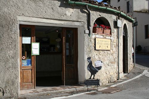 wine shop in Castellina
