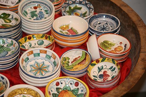 tiny italian bowls www.talkoftomatoes.com