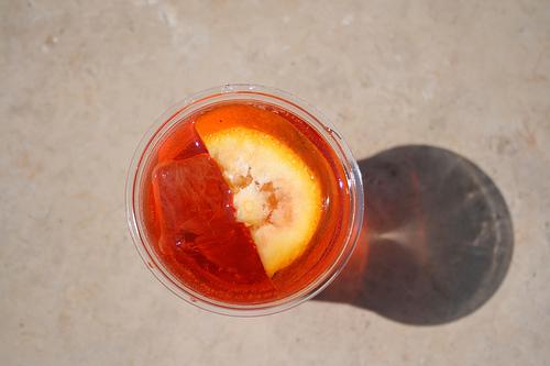 Italian spritz cocktail www.talkoftomatoes.com