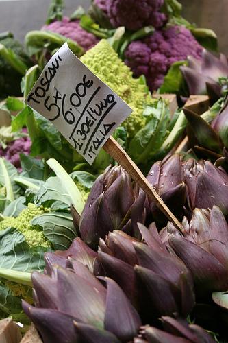 purple artichokes www.talkoftomatoes.com