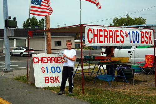 cherry stand