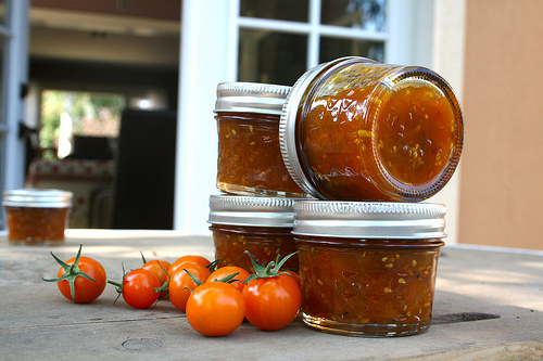 yellow tomato jam