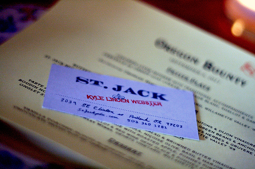 St. Jack Portland