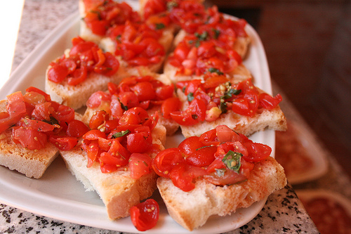 bruschetta www.talkoftomatoes.com