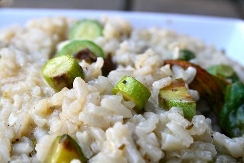 zucchini risotto www.talkoftomatoes.com