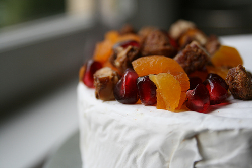 baked brie with apricots