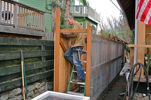 James building coop